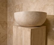 ivory travertine bathroom tiles