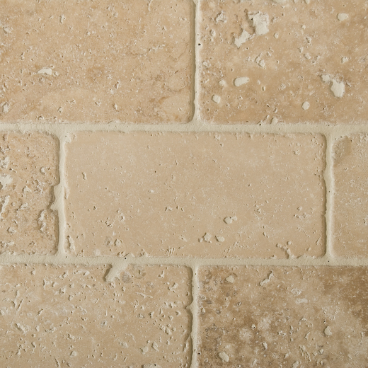 classic travertine bricks