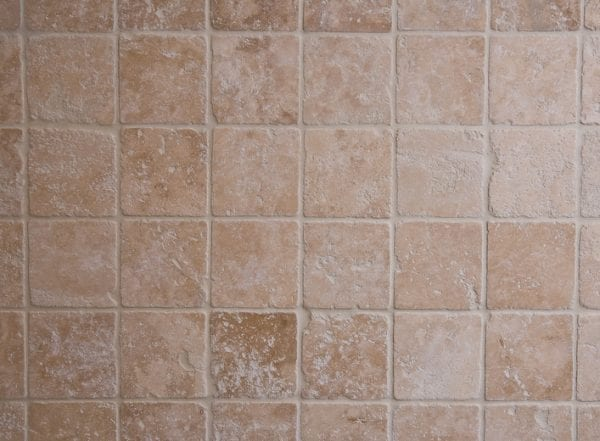 ivory travertine tumbled tiles