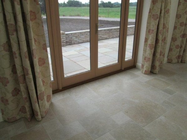 sandstone bricks for garden walls and landscaping in shrewsbury