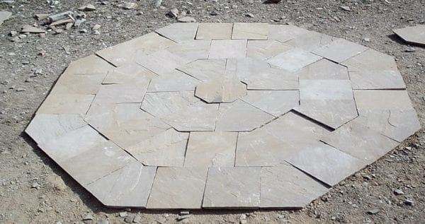 octagon paving set in shrewsbury