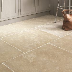 hamlet tumbled and etched limestone tiles