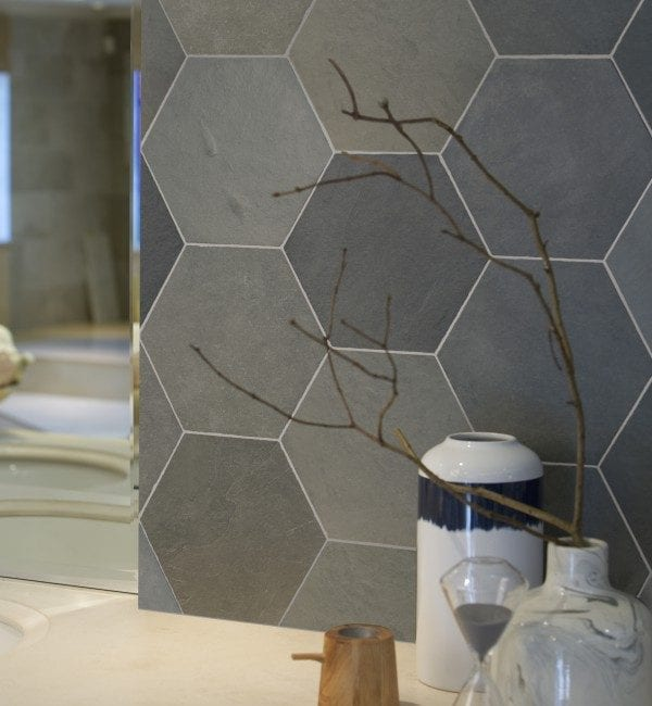 metro slate hexagon tiles