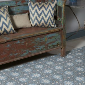 casablanca patterned encaustic tiles