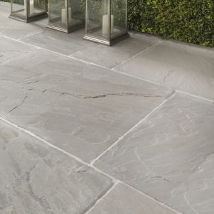 Salcombe Seasoned Paving Slabs