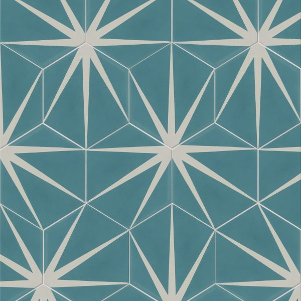 Encaustic Tiles - Lily Pad Pattern | From £2.99 per tileHeritage ...