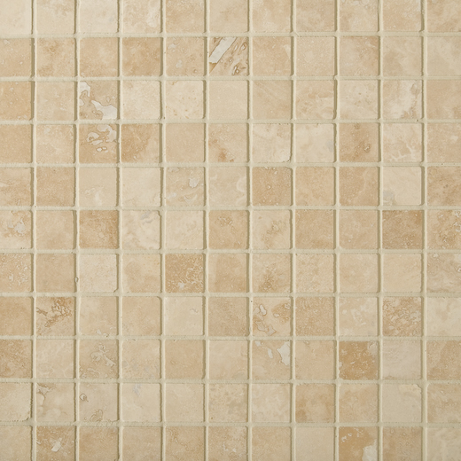 ivory mosaic 23mm x 23mm tiles