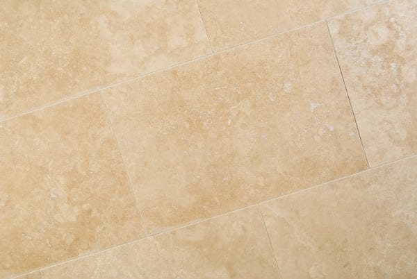 ivory travertine honed and filled tiles