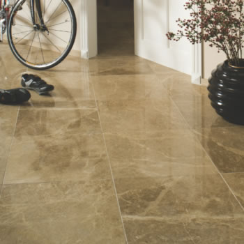light emperador marble tiles polished