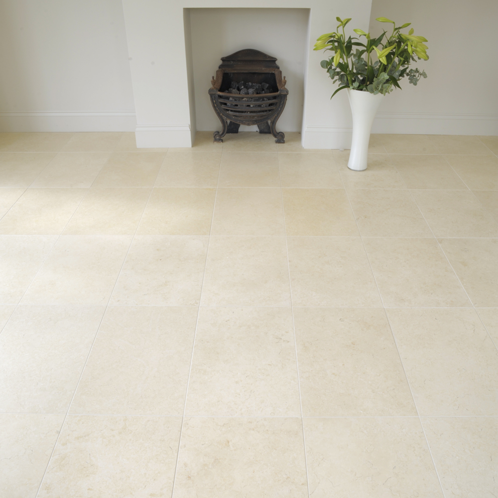 bergamo limestone tiles honed