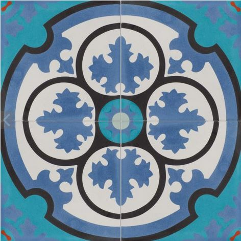 aruba pattern tile