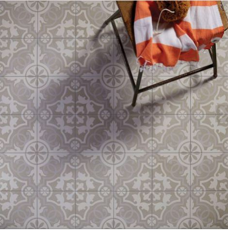 parisian cafe porcelain lilas tile