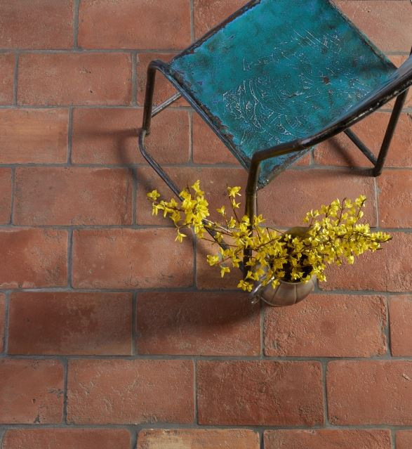 antique terracotta bricks