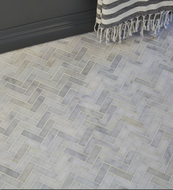 long island marble herringbone