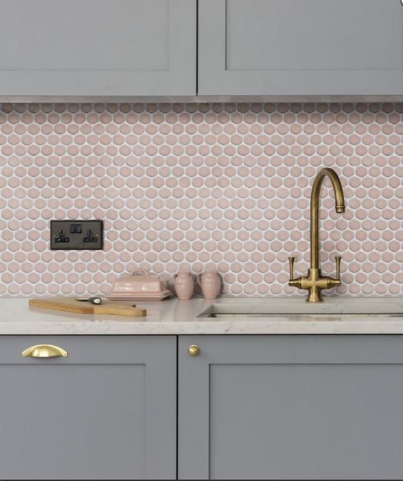 yoga penny deep blush porcelain tiles