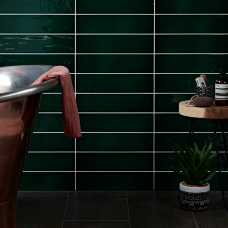 capietra-kennet porcelain bottle green tiles
