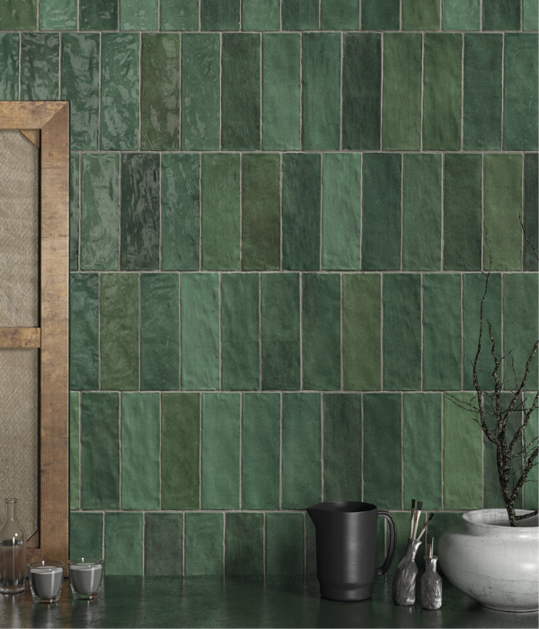 capietra tiles oasis ceramic green